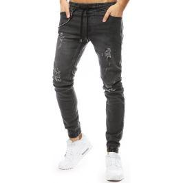 BASIC Šedé pánské džíny (ux2181) Velikost: 30