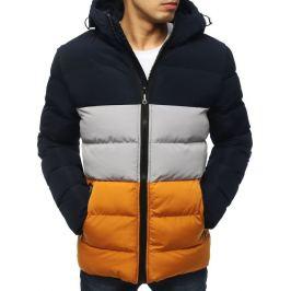 BASIC Pánská modrá zimní bunda (tx3113) Velikost: S