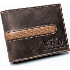ALWAYS WILD pánská peněženka N992-MHDU BROWN Velikost: univerzální