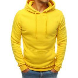 Žlutá basic mikina (bx3992) Velikost: M