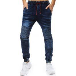BASIC Pánské modré džíny  (ux2205) Velikost: M