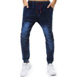 BASIC Pánské tmavě modré džíny (ux2206) Velikost: M