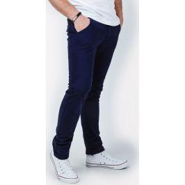 Pánské kalhoty v námořnické modré - GM321 velikost: S, odstíny barev: modrá