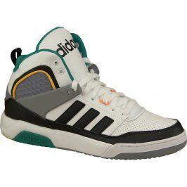 Kotníkové bílé boty ADIDAS - F99658 velikost: 44, odstíny barev: bílá