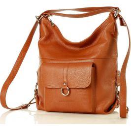 MAZZINI Dámská camel taška - batoh s116n Velikost: univerzální