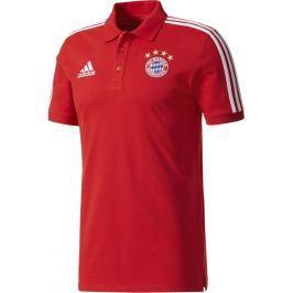 ADIDAS polo tričko FC Bayern Mnichov M CF0925 velikost: S, odstíny barev: červená