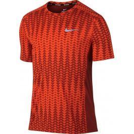 NIKE tričko běžecké Dry Miler Top M 833598-674 velikost: XL, odstíny barev: červená