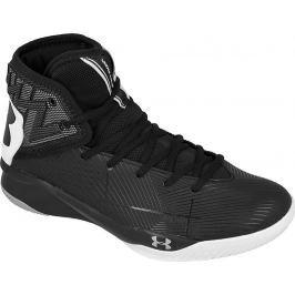 Černé pánské basketbalové boty UNDER ARMOUR Rocket 2 M 1286385-001 velikost: 47.5, odstíny barev: černá