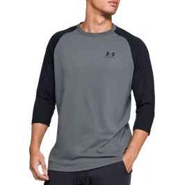 UNDER ARMOUR SPORTSTYLE LEFT CHEST 3/4 TEE 1329282-013 Velikost: S
