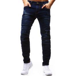 BASIC Pánské modré džíny (ux1176) velikost: 30, odstíny barev: modrá