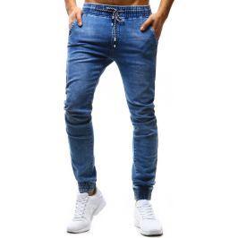 BASIC Pánské kalhoty Denim Look (ux1177) velikost: 29, odstíny barev: modrá