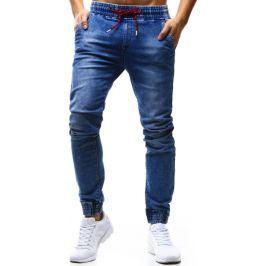 BASIC Pánské kalhoty Denim look (ux1178) velikost: 29, odstíny barev: modrá