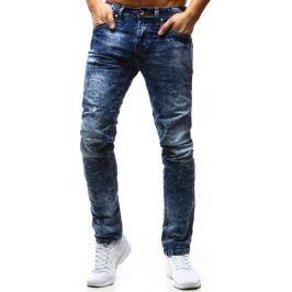 BASIC Pánské modré džíny (ux1180) velikost: 30, odstíny barev: modrá