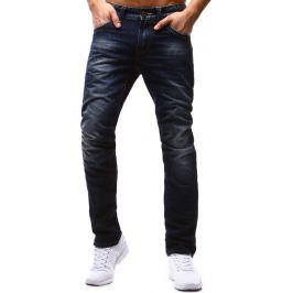 BASIC Pánské modré džíny (ux1187) velikost: 30, odstíny barev: modrá