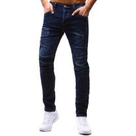 BASIC Pánské modré džíny (ux1191) velikost: 29, odstíny barev: modrá