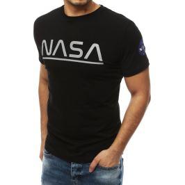 BASIC PÁNSKÉ ČERNÉ NASA TRIČKO RX4085 Velikost: M