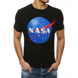 BASIC ČERNÉ PÁNSKÉ TRIČKO NASA RX4098 Velikost: M