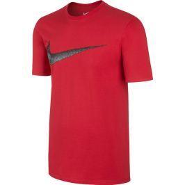 Nike Červené tričko Hangtag (707456-657) velikost: XL, odstíny barev: červená