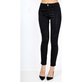 Černé džínové kalhoty (ON977-3) velikost: XL, odstíny barev: černá