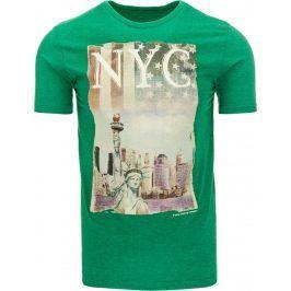 BASIC Pánské tričko s krátkým rukávem (rx1134) velikost: 2XL, odstíny barev: zelená
