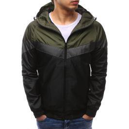 BASIC Pánská černá bunda s kapucí (tx2166) velikost: M, odstíny barev: černá