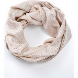 Béžový kruhový šátek (CH075-102) velikost: univerzální, odstíny barev: béžová