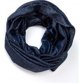 Modrý kruhový šátek (CH075-22) velikost: univerzální, odstíny barev: modrá