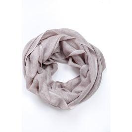 Šedý kruhový šátek (CH075-37) velikost: univerzální, odstíny barev: šedá