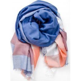 Šátek v pastelových barvách laděných do modra (CH7001-22) velikost: univerzální, odstíny barev: modrá