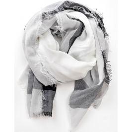 Šátek v pastelových barvách laděných do šeda (CH7001-3) velikost: univerzální, odstíny barev: šedá