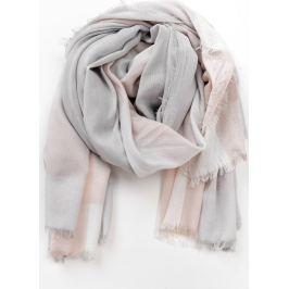 Šátek v pastelových barvách laděných do šeda (CH7001-4) velikost: univerzální, odstíny barev: šedá
