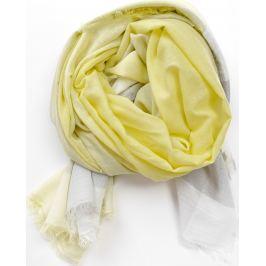 Šátek v pastelových barvách laděných do žluta (CH7001-53) velikost: univerzální, odstíny barev: žlutá