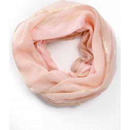 BASIC Lehký růžový šátek (CH8028-38) Velikost: univerzální