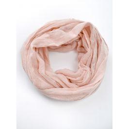 Lehká růžová šála (CH8080-102) velikost: univerzální, odstíny barev: růžová