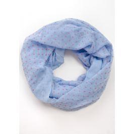 BASIC Modrý šátek s puntíky (CH8100-18) Velikost: univerzální