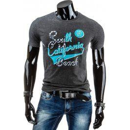 BASIC Pánské tričko s krátkým rukávem (rx1151) velikost: M, odstíny barev: černá