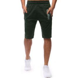 BASIC Pánské khaki šortky (sx0635) Velikost: M