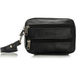 MILTON Pánská černá taška FELICE (ML25 BLACK) Velikost: univerzální