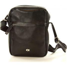 Pánská černá taška JAZZY PARTY (dg77a) velikost: univerzální, odstíny barev: černá