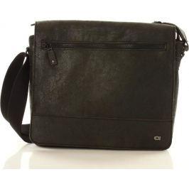 Pánská černá taška JAZZY RUN (dg81a) velikost: univerzální, odstíny barev: černá