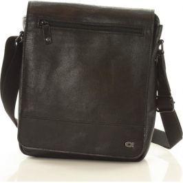 Pánská černá crossbody taška JAZZY RUN (dg82a) velikost: univerzální, odstíny barev: černá