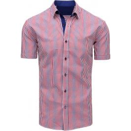 BASIC Pánská kostkovaná košile (kx0847) Velikost: M