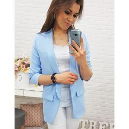 BASIC Dámský modrý blazer ZARRA (py0002) velikost: M, odstíny barev: modrá