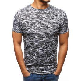 BASIC Pánské tričko v army stylu (rx2795) velikost: M, odstíny barev: bílá