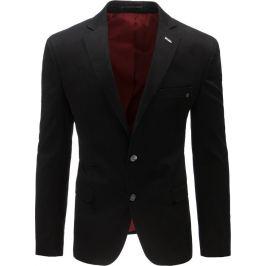 BASIC Pánské neformální sako (mx0388) velikost: S, odstíny barev: černá