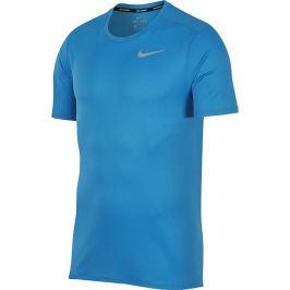 Nike Breathe Run Top Tee (904634-482) velikost: L, odstíny barev: modrá