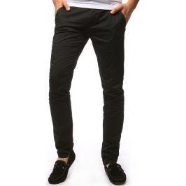 BASIC Pánské černé kalhoty (ux1256) velikost: 29, odstíny barev: černá