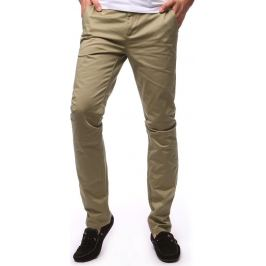 BASIC Pánské béžové kalhoty (ux1258) velikost: 31, odstíny barev: béžová