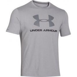 Under Armour Sportstyle Logo (1257615-025) velikost: L, odstíny barev: šedá