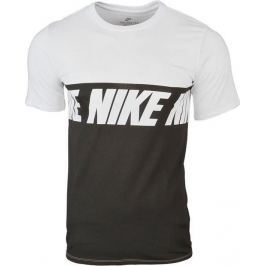 Nike Repeat Logo T-Shirt (856475-100) velikost: L, odstíny barev: bílá